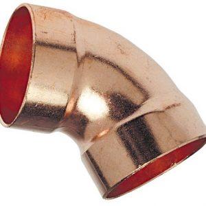 1-1/2'' Wrot Copper DWV 60º Elbow C x C