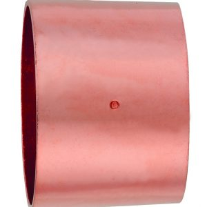 1-1/2'' Wrot Copper DWV Coupling With Stop C x C