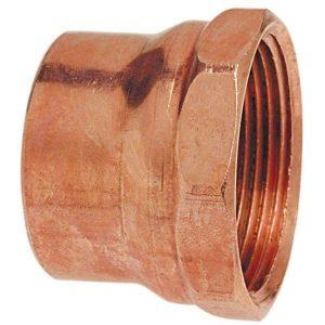 1-1/2'' Wrot Copper DWV Female Adapter C x F