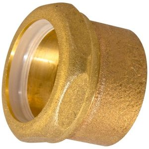 1-1/2'' Cast Brass DWV Trap Adapter C x SJ