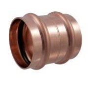 1-1/2'' Wrot Copper Press Coupling with Stop P x P