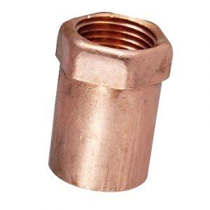 """1-1/2"""" Wrot Copper Female Adapter C x F"""