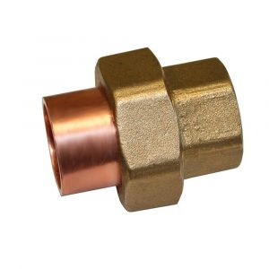 1-1/2'' Wrot Copper & Cast Brass Union C x C