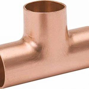 1-1/2'' Wrot Copper Tee C x C x C